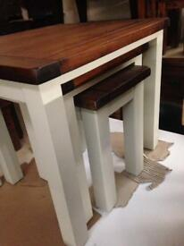 Beautiful nest of tables £150