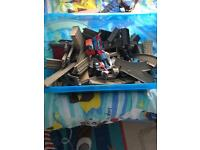 Thomas the tank engine track and trains