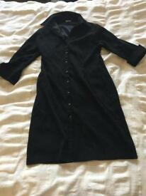 Velvet Long black dress