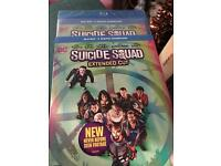 Suicide Squad Blu Ray (brand new)