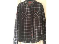 Men's Superdry checked Shirt XL
