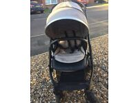 Babystyle Oyster 2 Pushchair and limited edition silver mist colour pack