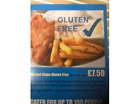 GLUTEN FREE FISH&chips
