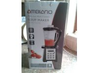 Ambiano 2litre 900w soup maker machine - brand new in box
