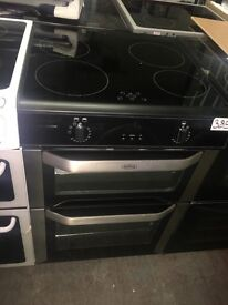 Belling Fse 60 DOTi Electric Induction Cooker - Stainless Steel
