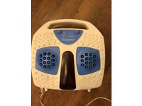 Foot / Feet Massager / Massage Pampering Infrared Heat 3 Settings Woolworth 280B0180 Great Condition