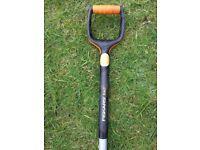 FISKARS Xact Digging Garden Spade Shovel Large