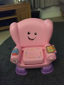 Fisher price musical and learning chair