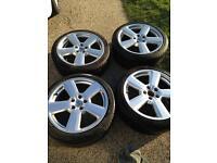 "18"" Audi s line/RS wheels"