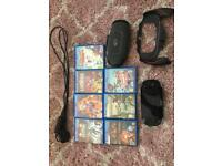 PSVITA with 7 games and accessories