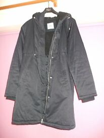 Warm Waterproof Maternity Coat Size Large (size 14)