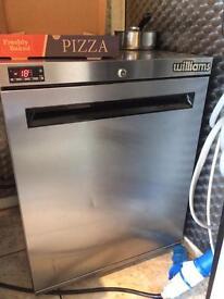 Williams stainless steel freezer