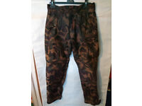 """Camo Kevlar Motorcycle Trousers - 34"""" Waist"""