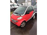 Smart Fortwo lhd low mileage