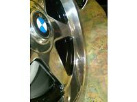 BMW E46 5×120 . 18 inch alloy wheels