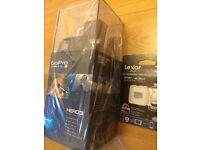 Brand new Go Pro HERO3+ Black Edition 12.0 MP Action Camera - 4K -