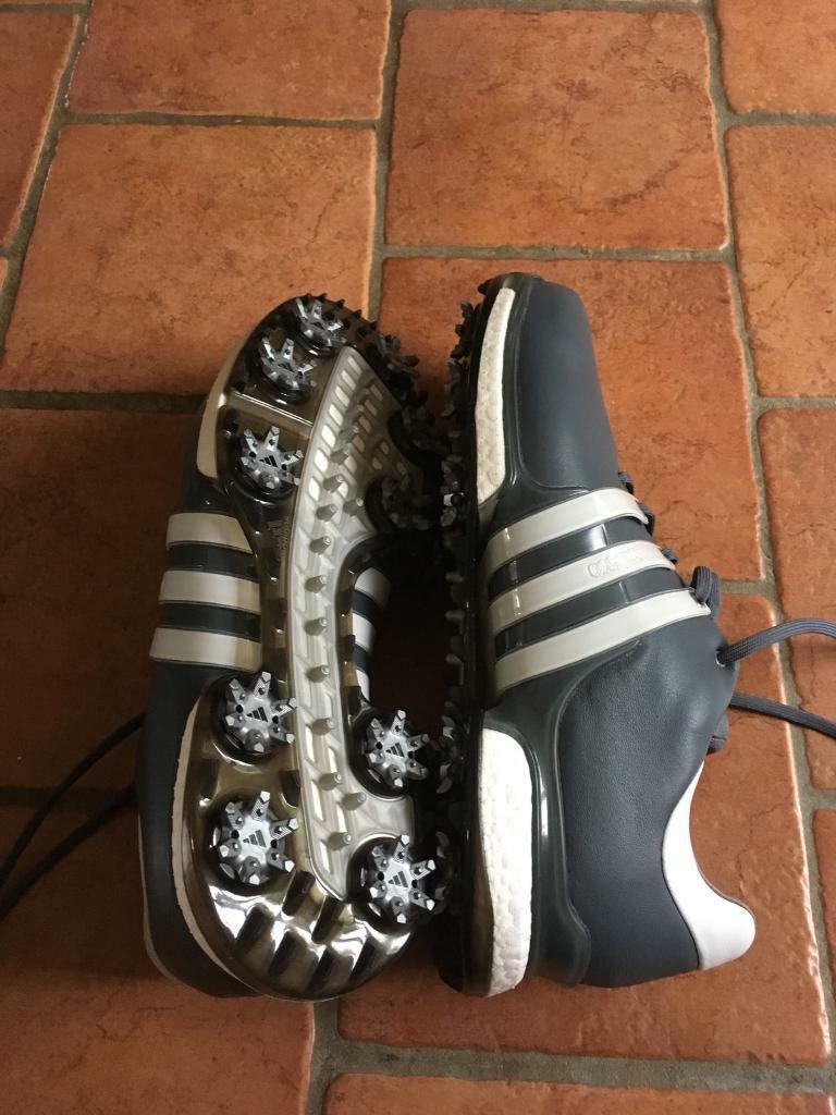 sports shoes 70697 eb251 Adidas Tour 360 Boost 2.0Golf Shoes Onix White Black Size 10.5