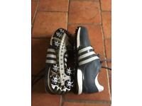 Adidas Tour 360 Boost 2.0Golf Shoes Onix/White/Black Size 10.5