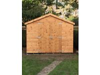 Garden Sheds, Apex or Pent roof all bespoke products