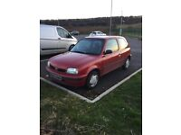 Red Nissan Micra £240 ono