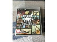 Grand Theft Auto San Andreas PS3 *NEW AND SEALED*
