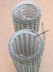 Garden All Purpose Plastic Mesh Green/White 2 Rolls