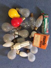 QTY 240V lamps