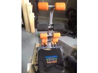 Cross Trainer and Total Core Exercise Equipment
