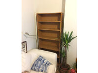 Brown Bookshelf