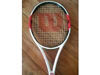 Wilson single mould tennis racquet. 6.1 graphite t