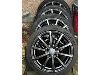 "Used, Audi S3 genuine 18"" alloy wheels black edition for sale  Redbridge, London"