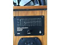 B&W dm5 speakers