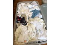 Baby boy clothes 0-3 months - mixed box