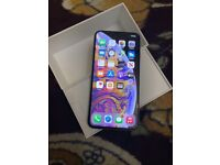 APPLE IPHONE XS MAX 64GB SILVER MOBILE(UNLOCKED)(MINT CONDITION)