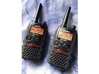Binatone action two way long range radios/walkie talkies