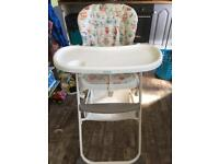 """Joie"" High Chair, used in good condition"