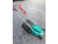 Bosch electric lawnmower SOLD