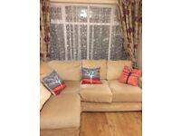 Corner sofa-bed as new