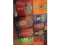 Hundreds of match attax from 2008-2015
