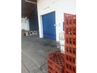 UNIT WORKSHOP WAREHOUSE LT INDUSTRIAL STORAGE PAINT SPRAY ROOM 20 Ft. Height Easy access A40 A312