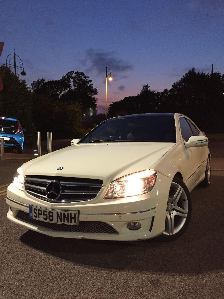 Mercedes Clc 180 Kompressor Sport White Panorama Pack
