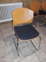 Dauphin.Besucherstühle 3 stück. Pro stück 26,€ Bayern - Kist Vorschau