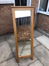 Freestanding mirror £60