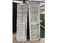 French shabby chic shutters