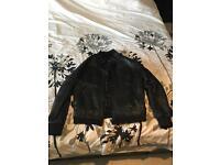 AviaTrix 100% Leather Jacket (Large)