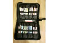 New Letraset Promarker Pens with storage case inc P&P