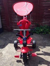 Children's Red Smart TrikeSport 3 in 1