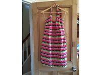 Boden patterned dress size 10R