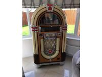 NSM Nostalgia Gold ll Jukebox For Sale Plus Matching Separate Speakers OVNO