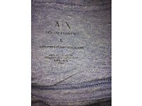 Blue Armani exchange t shirt brand new